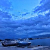 Photo taken at Akkum Liman, Ozbek Koyu by Alpin O. on 3/7/2017