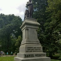 Photo taken at Statue of Daniel Webster by Tawni L. on 8/1/2016