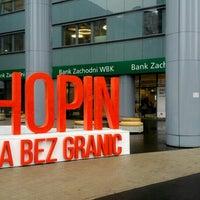 Photo taken at BZ WBK HQ by Omar E. on 10/13/2015