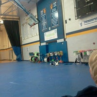 Photo taken at Owosso High School by Hye S. on 11/9/2012