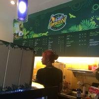 Photo taken at Café Amazon by Nun K. on 4/14/2016