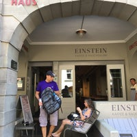 Photo taken at Einstein-Haus by Sener B. on 7/18/2017