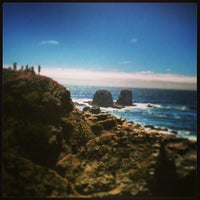 Photo taken at Punta de Lobos by Kiko C. on 1/6/2013