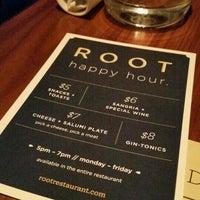 Foto tomada en ROOT restaurant + wine bar por Melissa J. el 1/13/2017
