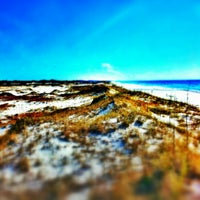 Photo taken at Topsail Hill Preserve State Park by Jeffrey J D. on 1/26/2013