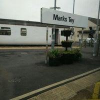 Photo taken at Marks Tey Railway Station (MKT) by Luke W. on 5/31/2016