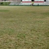 Photo taken at Estadio Municipal Mario Cini by Filipe V. on 5/15/2016