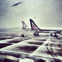 Photo taken at Milan Linate Airport (LIN) by Dario C. on 2/11/2013