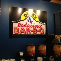 Photo taken at Dick's Bodacious BBQ by Gary S. on 10/15/2012