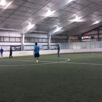 Photo taken at Idaho Soccer Center by Nawaf A. on 1/23/2016