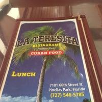 Photo taken at La Teresita Cuban Restaurant by C W. on 8/4/2017