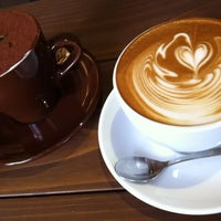 Photo taken at POSSE COFFEE by choice on 2/11/2014