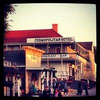 Photo taken at Cosmopolitan Hotel & Restaurant by Alan D. on 12/11/2012