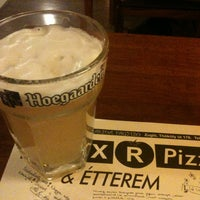 Photo taken at Mix-R Pizza & Étterem by Gabriel V. on 4/2/2013