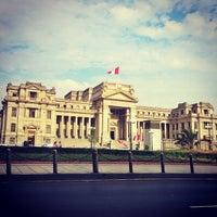 Photo taken at Palacio de Justicia de Lima by Yovanni on 1/22/2013