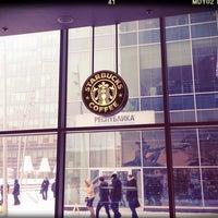 Photo taken at Starbucks by Elena O. on 3/15/2013