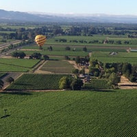 Photo taken at Hot Air Balloon Over Napa by Chinmay N. on 6/28/2015