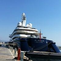 Photo taken at Flisvos Marina by IBRAHIM_STANI on 7/13/2013
