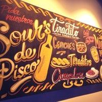 Foto tomada en Tiradito & Pisco Bar por Loreto el 12/21/2013