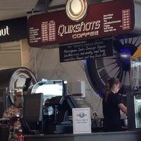 Photo taken at Quikshots Coffee by Luke M. on 3/19/2013