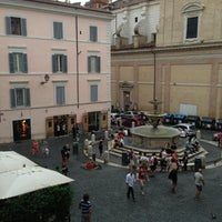 Photo taken at Piazza della Madonna dei Monti by Darina V. on 7/22/2013