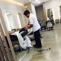 Photo taken at Bruno's Barbers by Marian D. on 4/6/2016