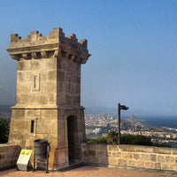Photo taken at Castillo de Montjuic by Omar M. on 6/26/2013