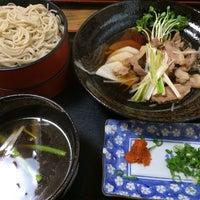 Photo taken at 麺坊 蕎麦博 by Yohei T. on 10/12/2014