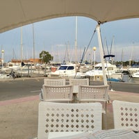 Photo taken at Club Nautico Sant Carles de la Rapita by Joan F. on 7/11/2013