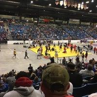 Photo taken at Hartman Arena by Justin C. on 2/25/2017