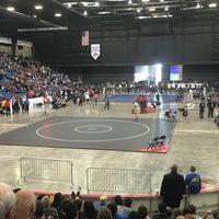Photo taken at Hartman Arena by Justin C. on 2/27/2016