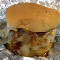 Photo taken at Dorothy Moon's Gourmet Burgers by Dee W. on 11/16/2012