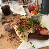 Photo taken at Fika Swedish Kitchen by Stephen M. on 9/24/2017