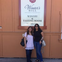 Photo taken at Winter's Hill Estate Vineyard & Winery by Elaine L. on 9/1/2017