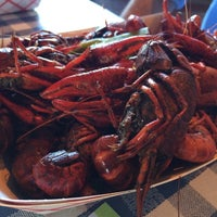 Photo taken at Tulane Crawfish Boil @ Boat Basin by Bethany S. on 5/31/2014