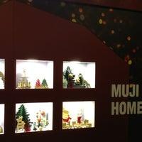 Photo taken at Muji by toonmoon on 12/9/2012