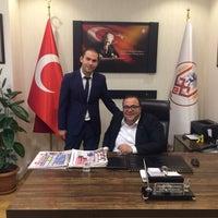 Photo taken at altıeylül belediyesi başkanlık katı by Zeki B. on 1/4/2017