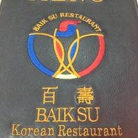 Photo taken at Baik Su by Lanvin L. on 11/3/2012