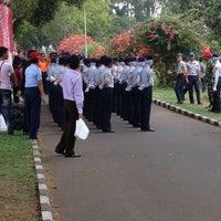 Photo taken at Sekolah Tinggi Penerbangan Indonesia (STPI) by Yani Yudha W. on 10/14/2012