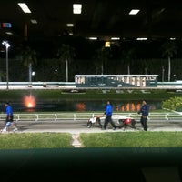 Photo taken at Palm Beach Kennel Club Poker Room by Tori A. on 3/2/2013