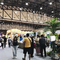 Photo taken at Exhibition Hall 4 by Fah N. on 7/16/2018
