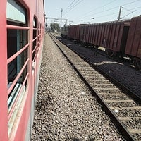 Photo taken at Bilaspur Railway Station by Vivin M. on 2/24/2017