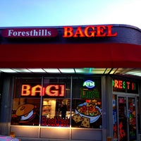 Photo taken at Forest Hills Bagels by Dave K. on 12/24/2012