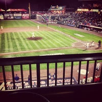 Photo taken at Clipper Magazine Stadium by Jeff C. on 9/26/2012