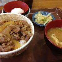 Photo taken at Sukiya by Poo o. on 7/7/2013