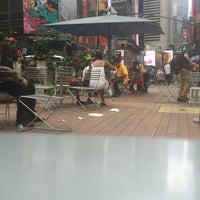 Photo taken at Broadway Pedestrian Mall - 39th St to 42nd St by Marc C. on 7/10/2016