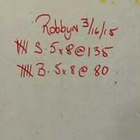 Photo taken at Boynton Barbell Center by Robbyn A. on 3/16/2015