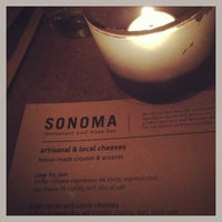 Photo taken at Sonoma Restaurant and Wine Bar by Sean-Patrick on 4/12/2013
