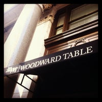 Photo taken at Woodward Table by Sean-Patrick on 2/12/2013