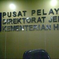 Photo taken at Direktorat Jenderal Administrasi Hukum Umum Kementerian Hukum dan HAM RI by Wient W. on 1/15/2014